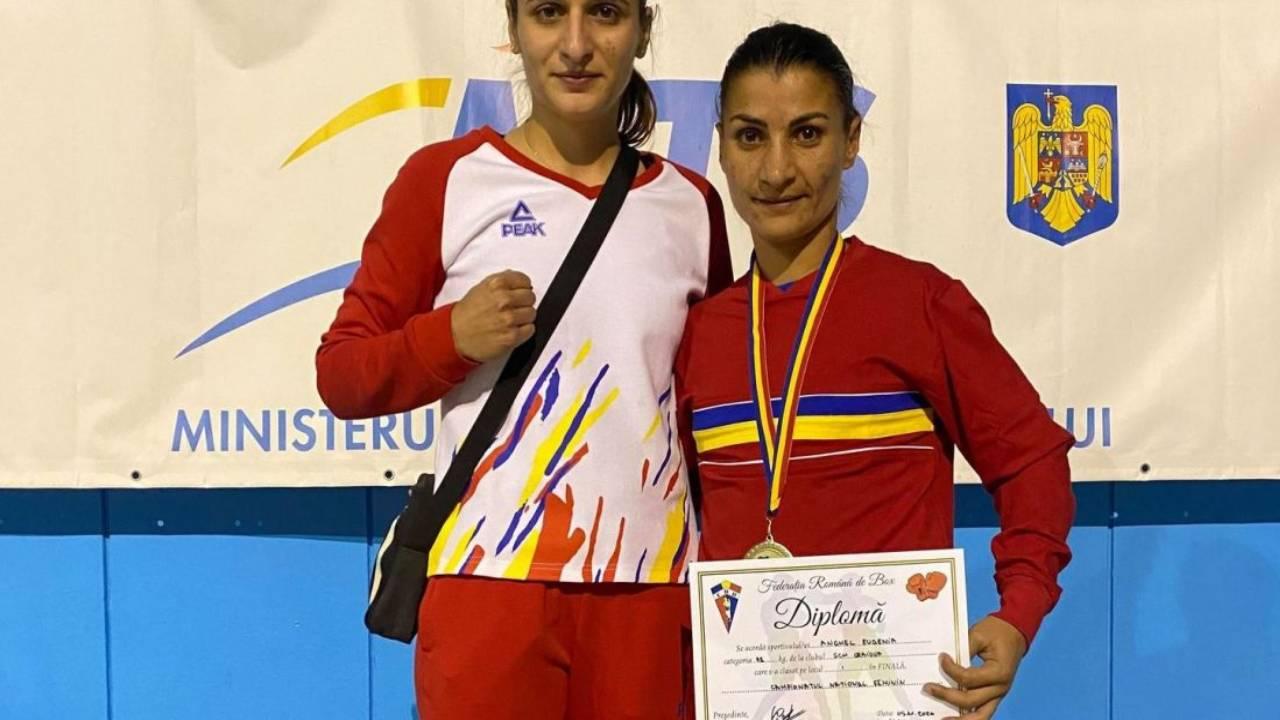 Competitie de box in Germania pentru Anghel Eugenia