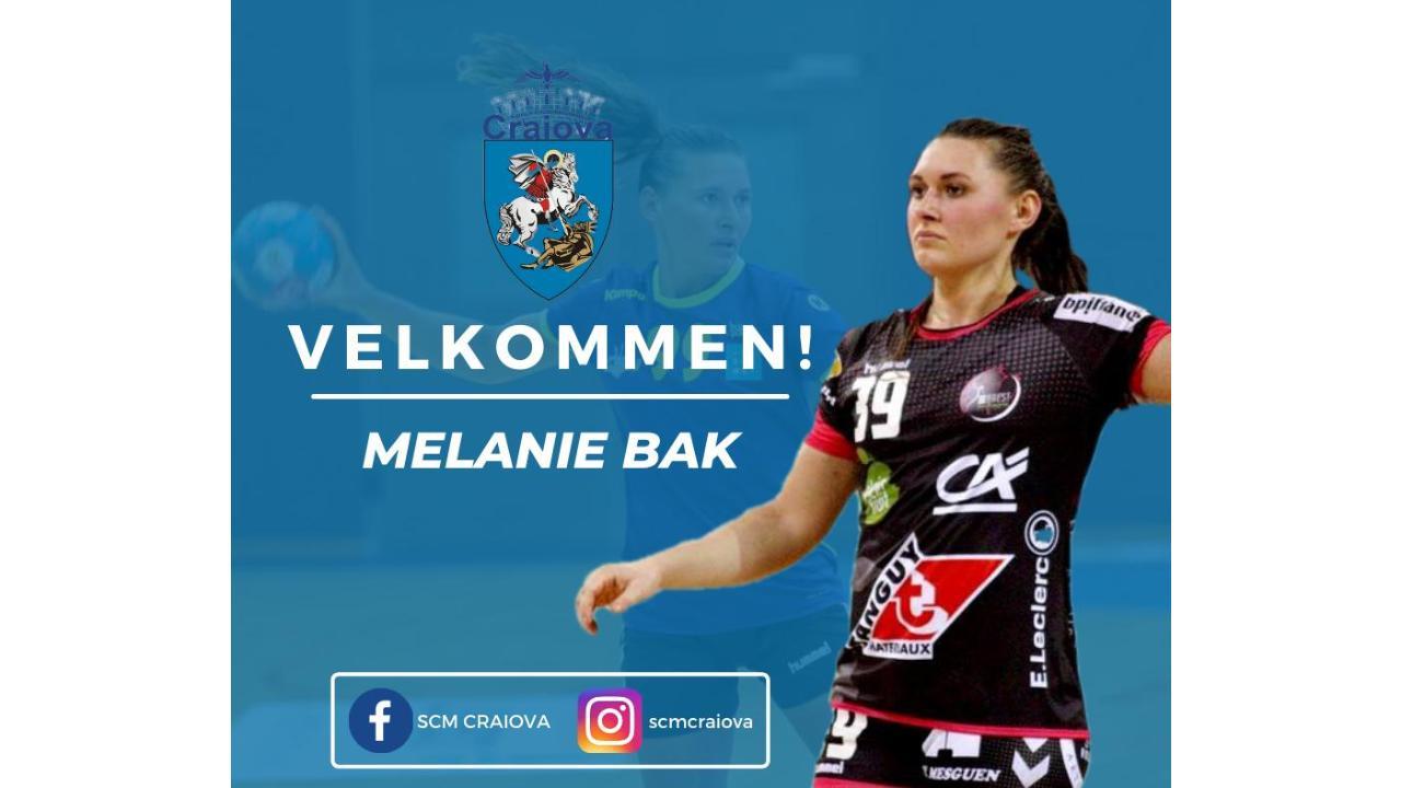 Melanie Mie Bak cea mai nouă achiziție la echipa de handbal feminin