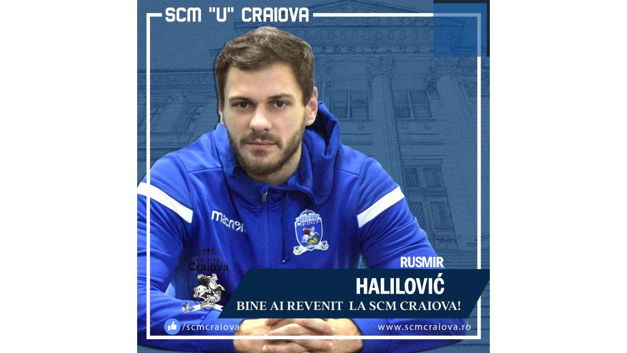 Rusmir Halilovic revine la Craiova