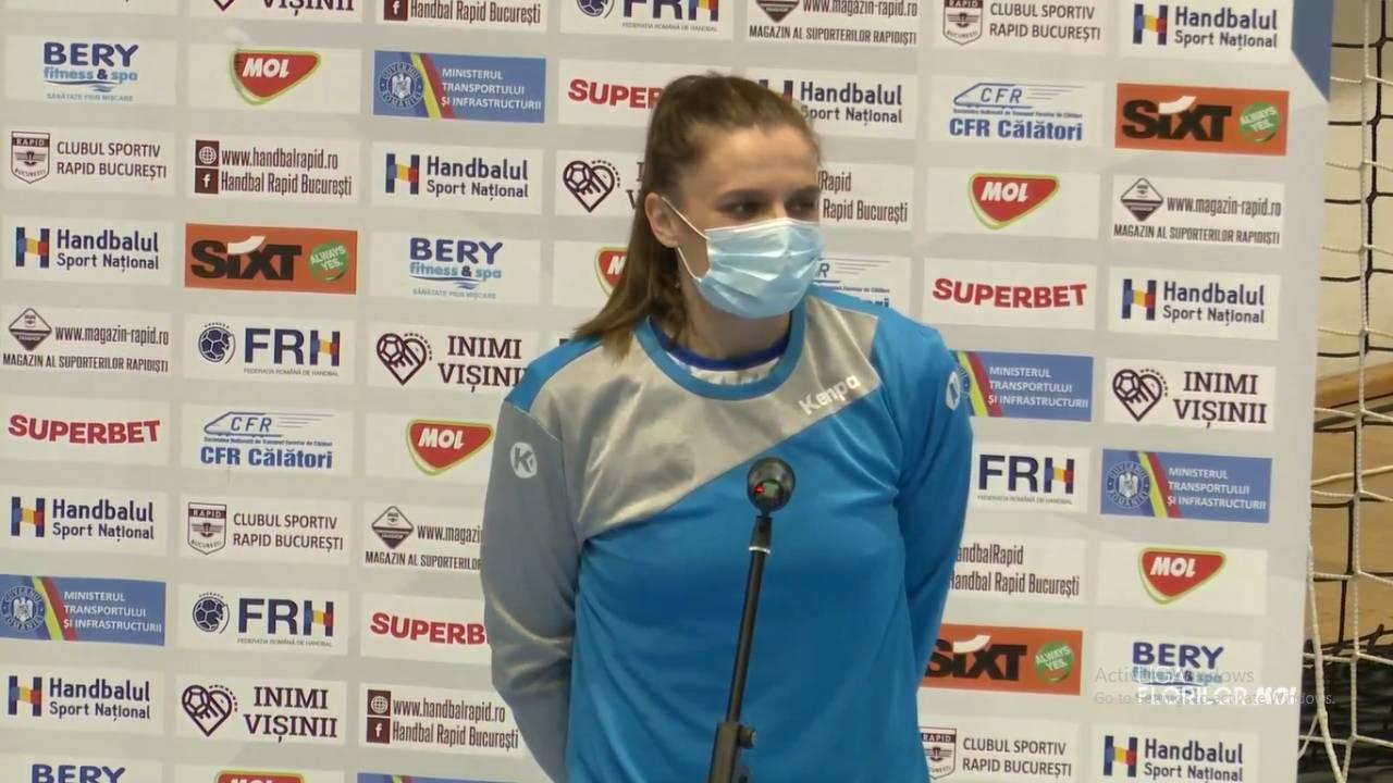 """Ana Maria Savu: """"Dacă eram mai atente în atac, puteam câștiga"""""""