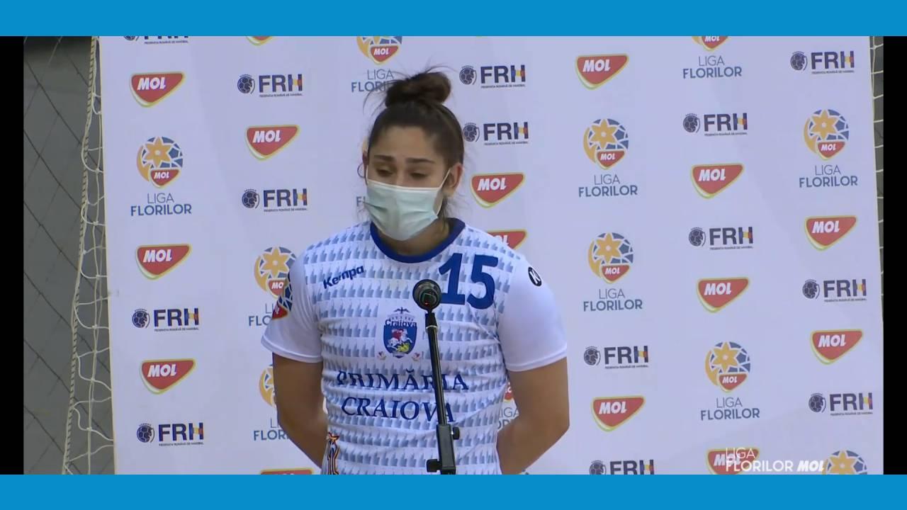 """Francesca Gogoşeanu: """"Următoarele două jocuri sunt cruciale pentru noi"""""""
