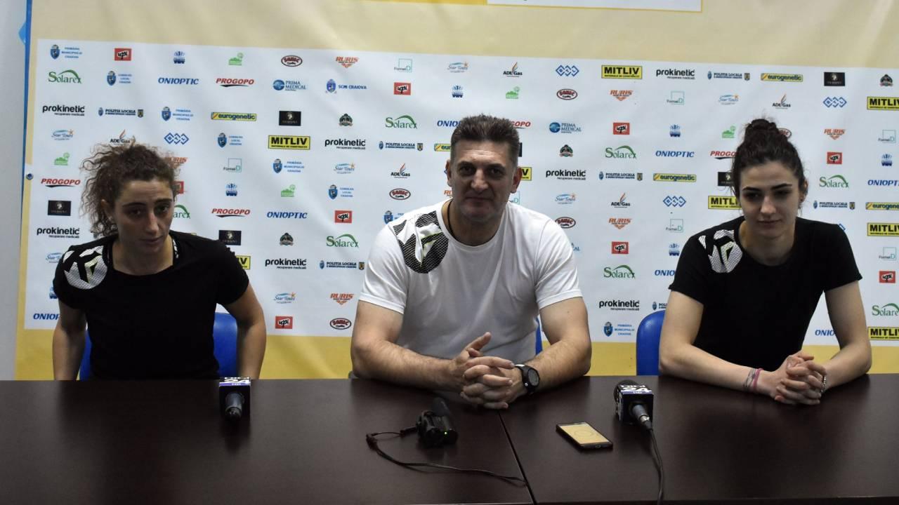 Handbalistele vizeaza trei puncte cu Slatina