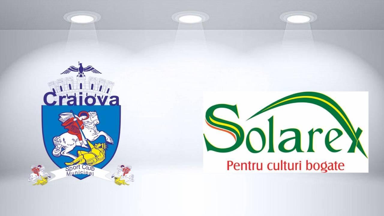 Solarex partener statornic al S.C.M. Craiova!