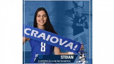 Craioveanca Ana Valentina Stoian continuă la ... S.C.M. Craiova