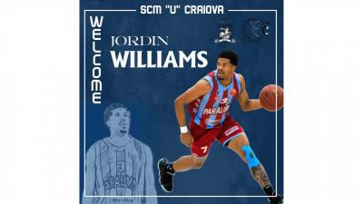 Williams Jordin Chrystopher primul sosit în lotul echipei de baschet masculin