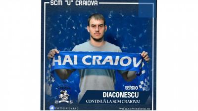 Și Sergio Diaconescu continuă povestea cu S.C.M. Craiova