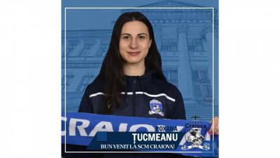 Roxana Mariana Țucmeanu noul libero al echipei de volei feminin