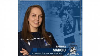 Ramona Marciu continuă în alb-albastru