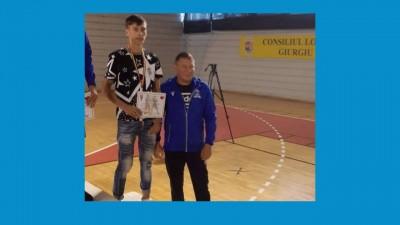 Dragos Stamin, bronz la Campionatul Național pentru tineret