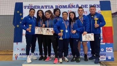 Pugilistele, sase Medalii La Cupa României