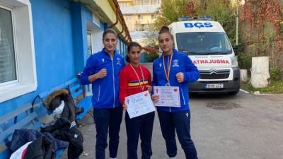 Doua medalii la Campionatele Nationale Feminine De Box