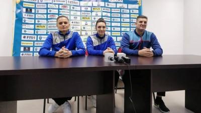 Handbalistele aşteaptă suporterii la sală in jocul cu Buzău