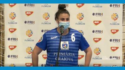 """Carmen Ilie Şelaru: """"Ne bucurăm pentru victorie"""""""