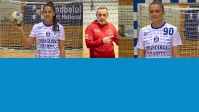 Doua handbaliste de la SCM Craiova vor participa la Campionatul European