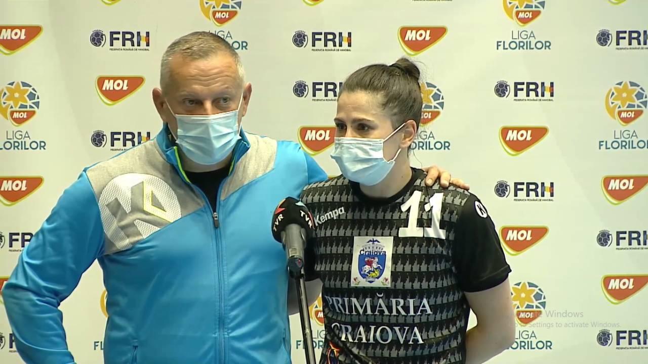 """Ana Maria Țicu: """"Sunt foarte mândră de echipă"""""""